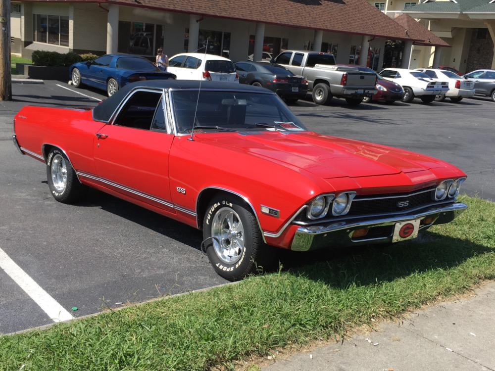 Used 1968 Chevrolet El Camino -SS TRIM-NICE PICK UP FROM THE SOUTH-WITH 4 SPEED TRANS-FREE DELIVERY | Mundelein, IL