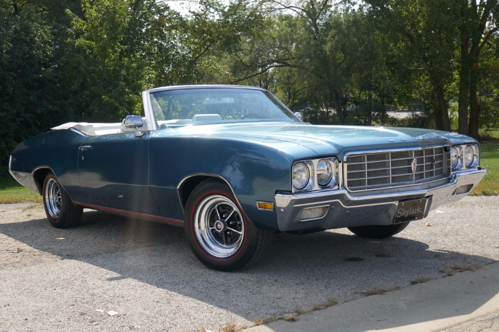 Used 1970 Buick Skylark -BEAUTIFUL & METICULOUSLY MAINTAINED-DIPLOMAT BLUE CONVERTIBLE -SEE VIDEO | Mundelein, IL