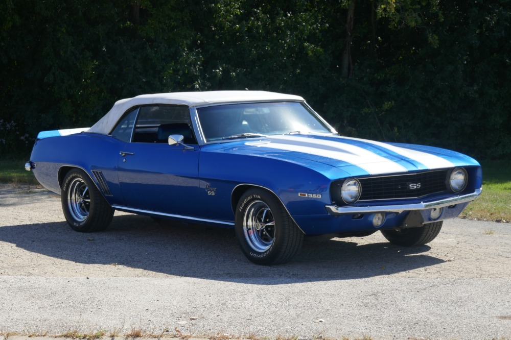 Used 1969 Chevrolet Camaro -PRICE DROP-SS- CONVERTIBLE- 350/ AUTOMATIC OVERDRIVE 700R4-SEE VIDEO | Mundelein, IL