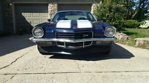 Used 1973 Chevrolet Camaro -Z/28 MIDNIGHT BLUE-SOLID MUSCLE CAR- | Mundelein, IL
