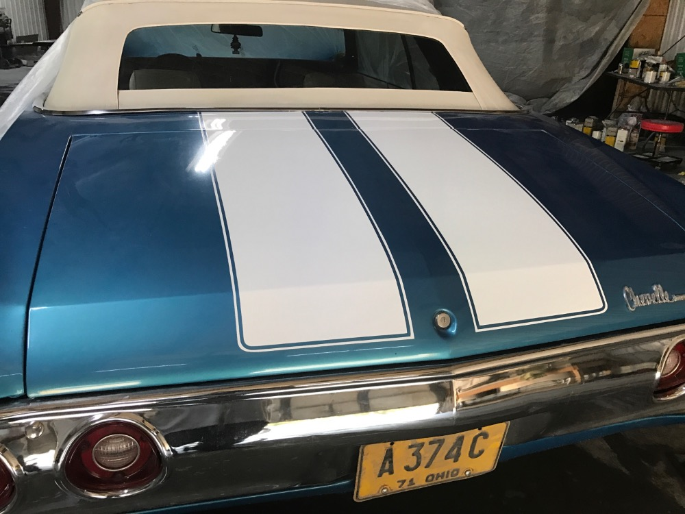 Used 1972 Chevrolet Chevelle -SUMMER FUN CONVERTIBLE-NEWER PAINT-GREAT COLOR COMBO-ENJOY- | Mundelein, IL