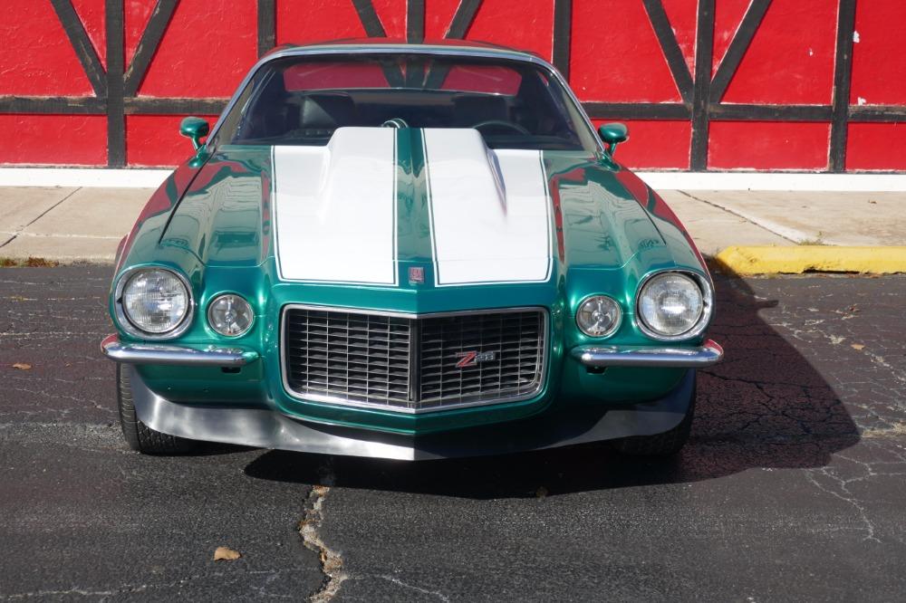 1972 Chevrolet Camaro -SPLIT BUMPER - 454 -RALLEY GREEN - SOLID ...