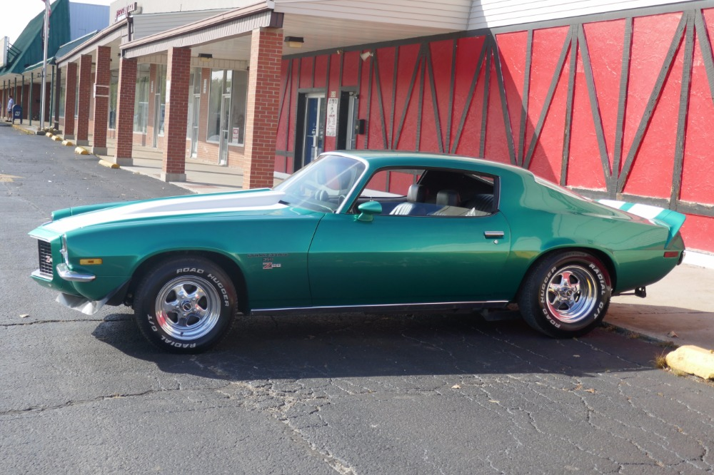 1972 Chevrolet Camaro -SPLIT BUMPER - 454 -RALLEY GREEN - SOLID ...