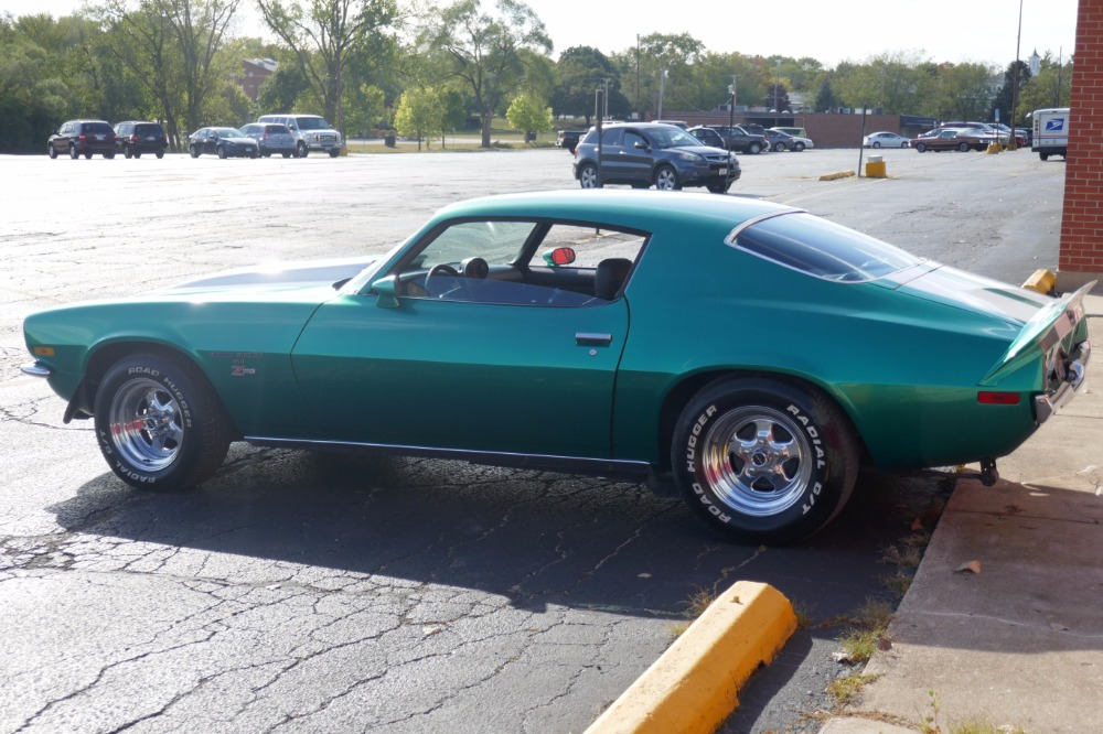Used 1972 Chevrolet Camaro -SPLIT BUMPER - 454 -RALLEY GREEN - SOLID MUSCLE CAR- SEE VIDEO | Mundelein, IL