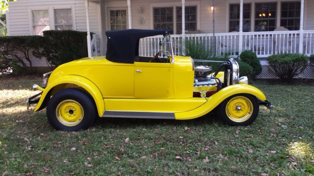 1929 Fiberglass Roadster Body