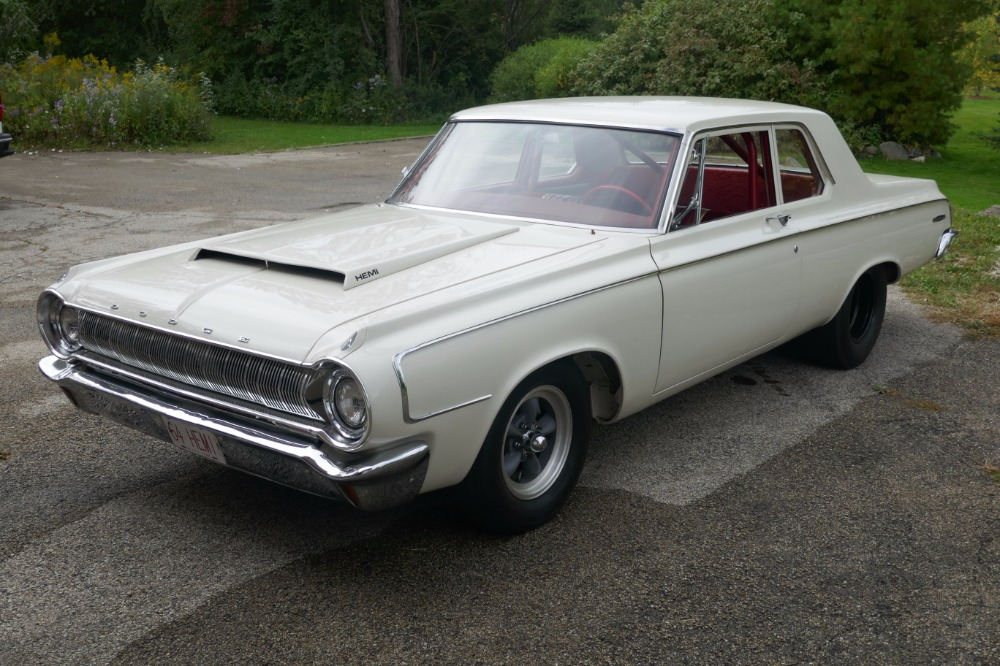 1964 Dodge 330 -HEMI SUPER STOCK-STAGE III- FACTORY LIGHT WEIGHT ...