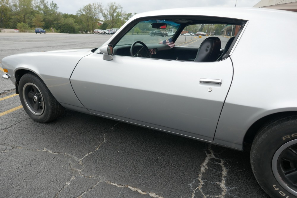 Used 1971 Chevrolet Camaro -REAL RS SPLIT BUMPER-CORTEZ SILVER PAINT JOB WITH 4 SPEED- SEE VIDEO | Mundelein, IL