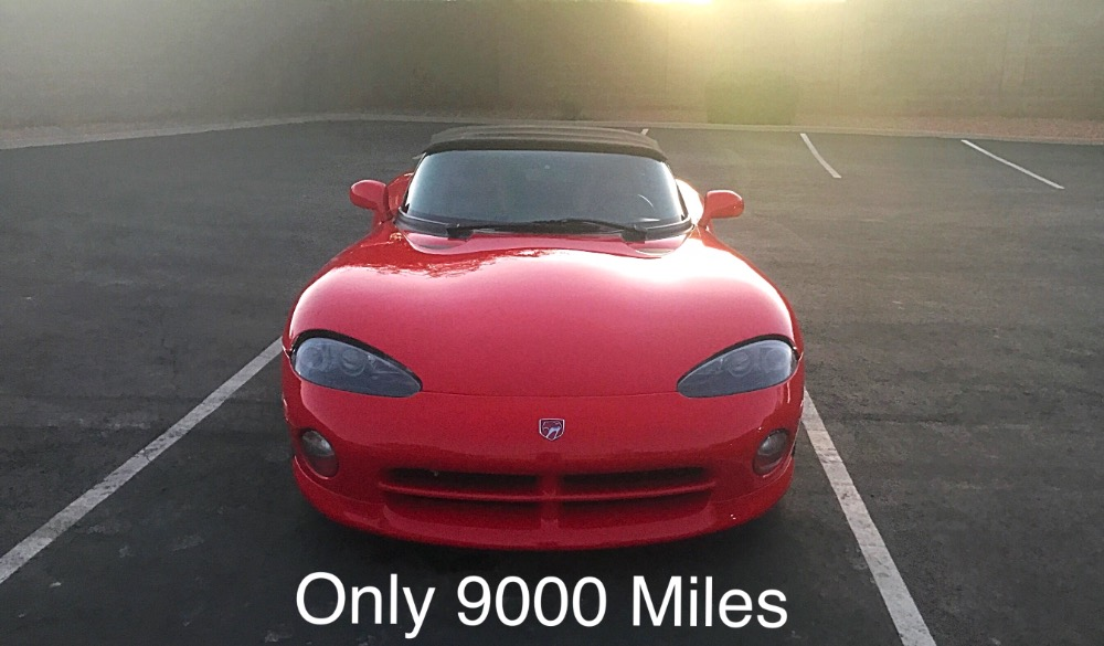 Used 1995 Dodge Viper -RT10 Only 9200 Original Miles-All stock-V10 Fun clean Roadster- | Mundelein, IL