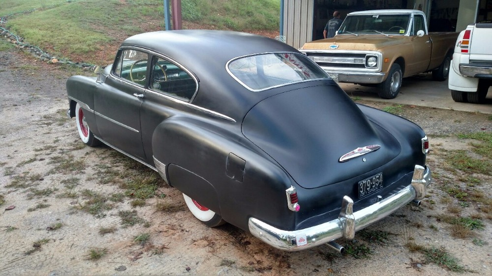 Used 1951 Chevrolet Hot Rod / Street Rod -FASTBACK COUPE -235 6 CYLINDER ENGINE-HOT ROD SATIN BLACK FINISH | Mundelein, IL
