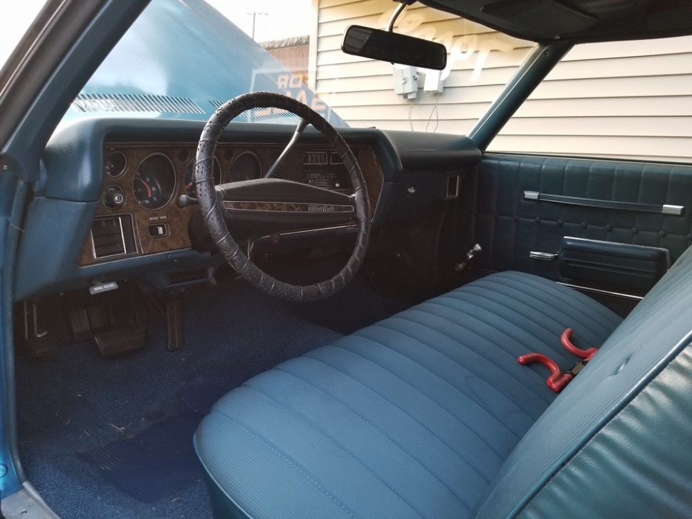 1972 chevrolet monte carlo clean and affordable classic car with air conditioning stock. Black Bedroom Furniture Sets. Home Design Ideas