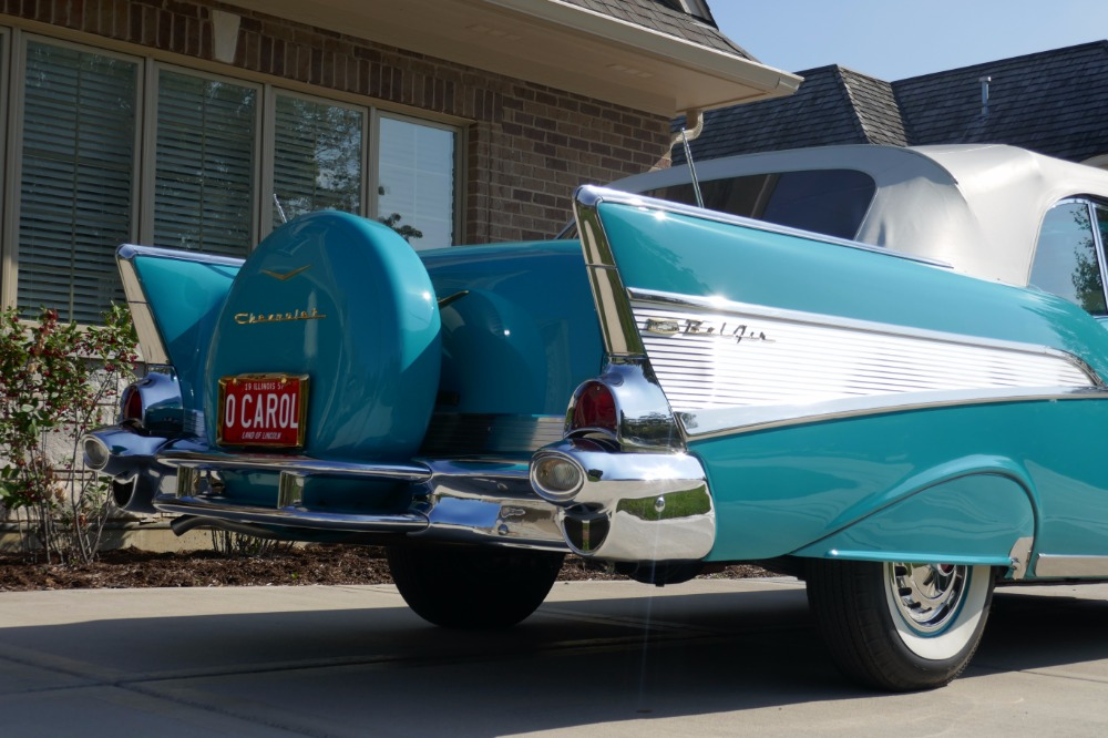 Used 1957 Chevrolet Bel Air -BEST IN THE COUNTRY-ORIGINAL HIGH END RESTORATION- SEE VIDEO | Mundelein, IL
