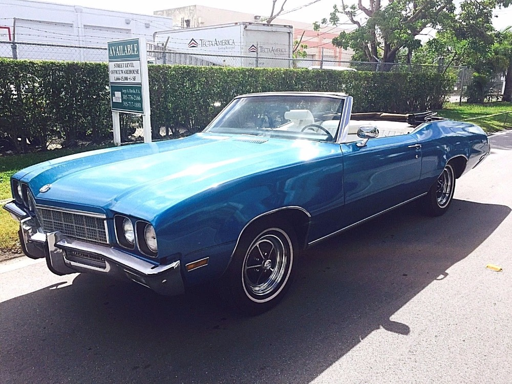 1972 buick skylark custom convertible well maintained stock 7272350sg for sale near mundelein. Black Bedroom Furniture Sets. Home Design Ideas