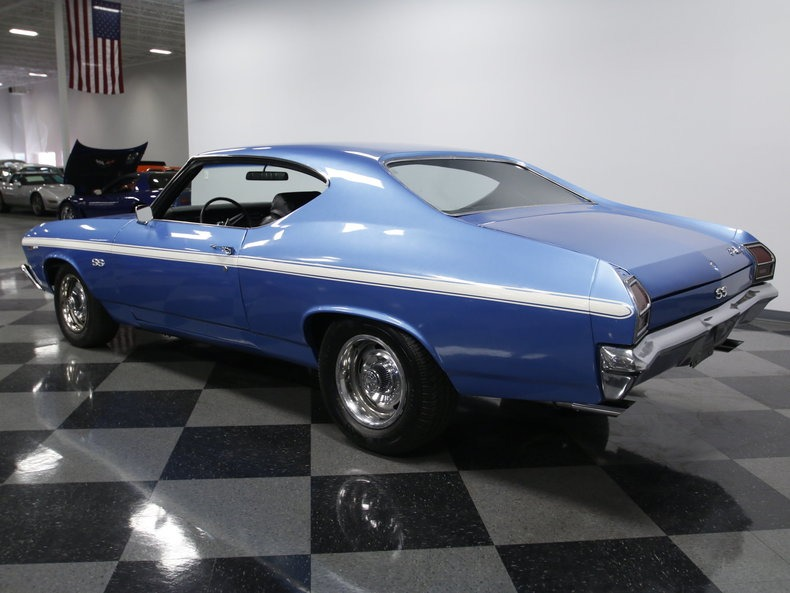 Used 1969 Chevrolet Chevelle -BUILT SS396/402CI BB V8 LS3/ AUTOMATIC -MARINA BLUE-SOUTHERN CAR- | Mundelein, IL