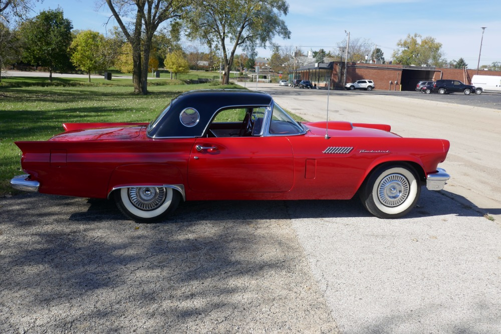 Used 1957 Ford Thunderbird -CONVERTIBLE & HARD TOP CLASSIC- SEE VIDEO | Mundelein, IL