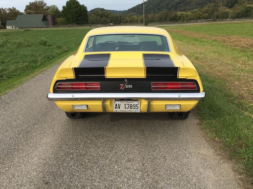Used 1969 Chevrolet Camaro -RS Z/28 Trim-Daytona Yellow with 4 Speed- | Mundelein, IL