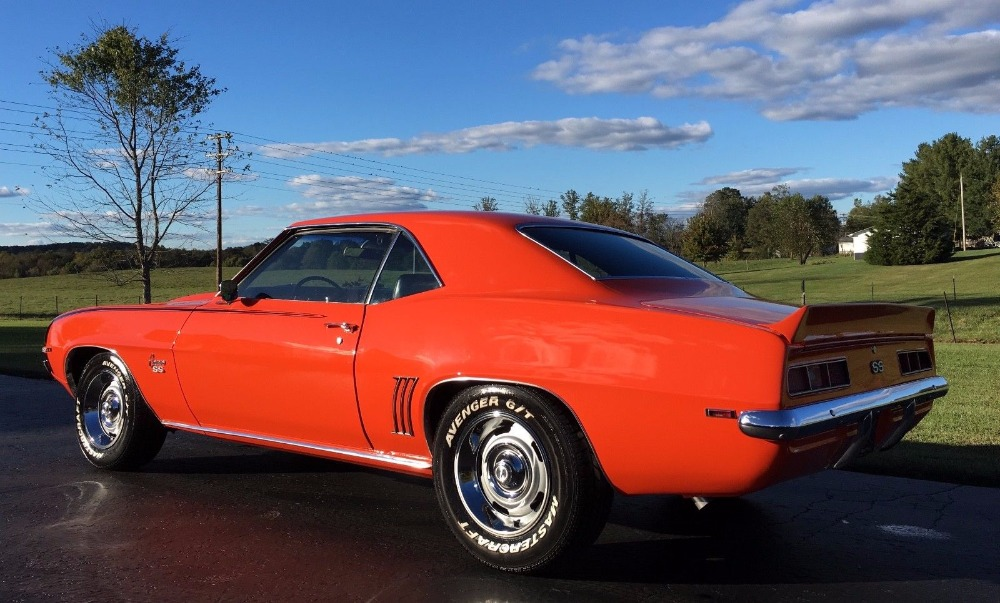 Used 1969 Chevrolet Camaro -X11 REAL SUPERSPORT-NEW HUGGER ORANGE PAINT-SOUTHERN CAR-REAL SS350- | Mundelein, IL