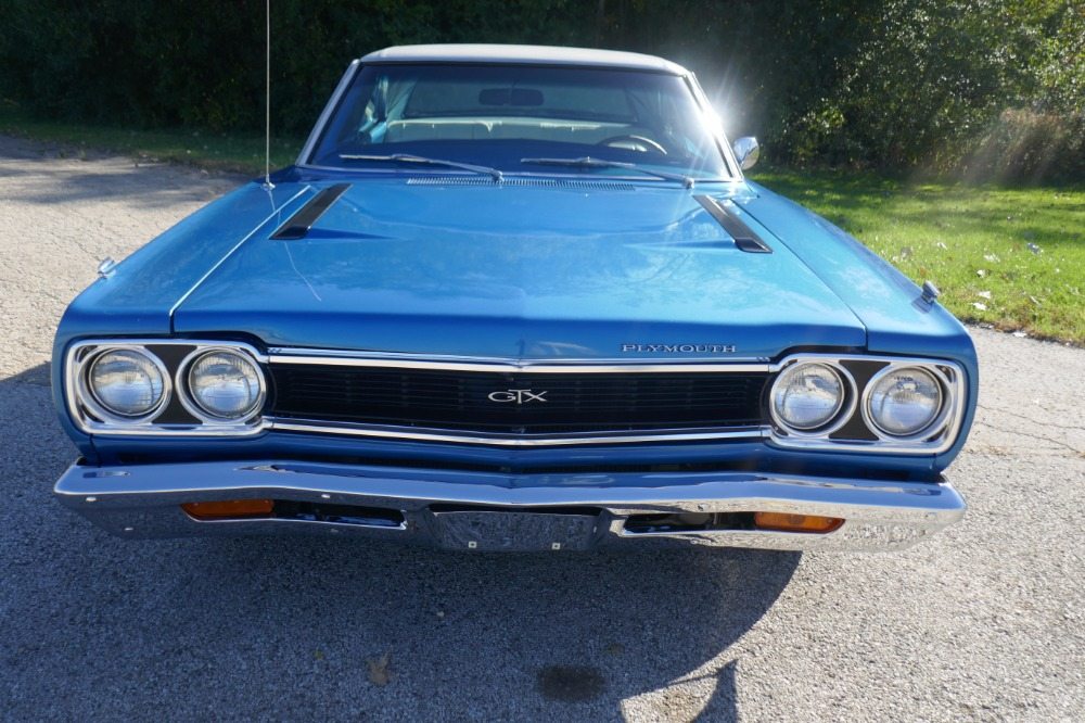 1968 Plymouth GTX -DOCUMENTED MOPAR-440/6PACK-RARE COLOR COMBO-SEE ...