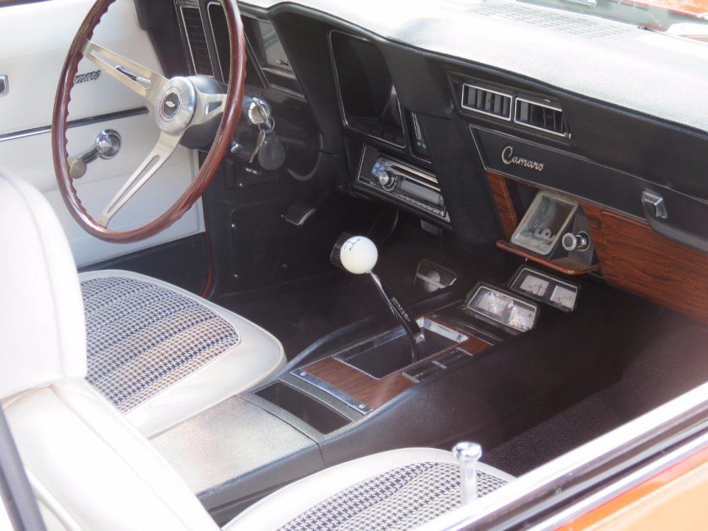 Used 1969 Chevrolet Camaro - Z/28 TRIM - 4 SPEED - HUGGER ORANGE ROTISSERIE RESTORATION - SEE VIDEO | Mundelein, IL