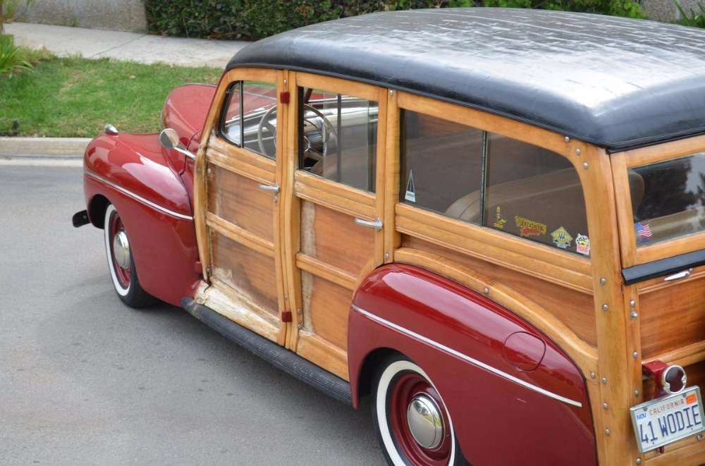 1941 Ford Station wagon -DELUXE- MODEL-RARE OLDER RESTORATION-NO ...