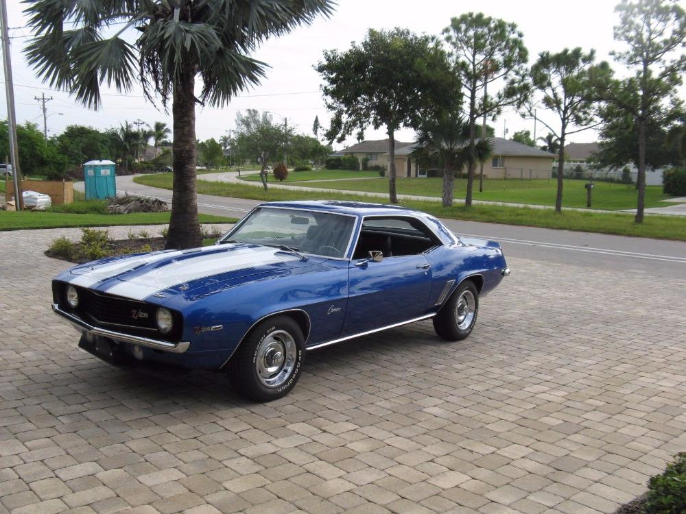 1969 Chevrolet Camaro -REAL X11 CODE-NICE PAINT-FLORIDA CAR-350 ...