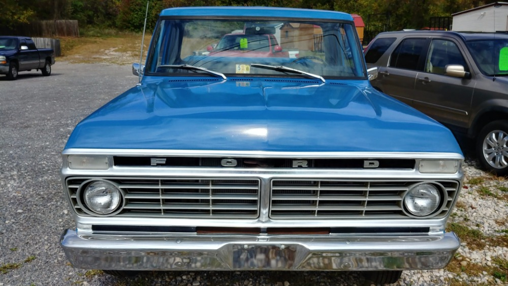 1973 Ford F100 -CLASSIC PICKUP TRUCK- 351 WINDSOR/3-SPEED - ONE ...