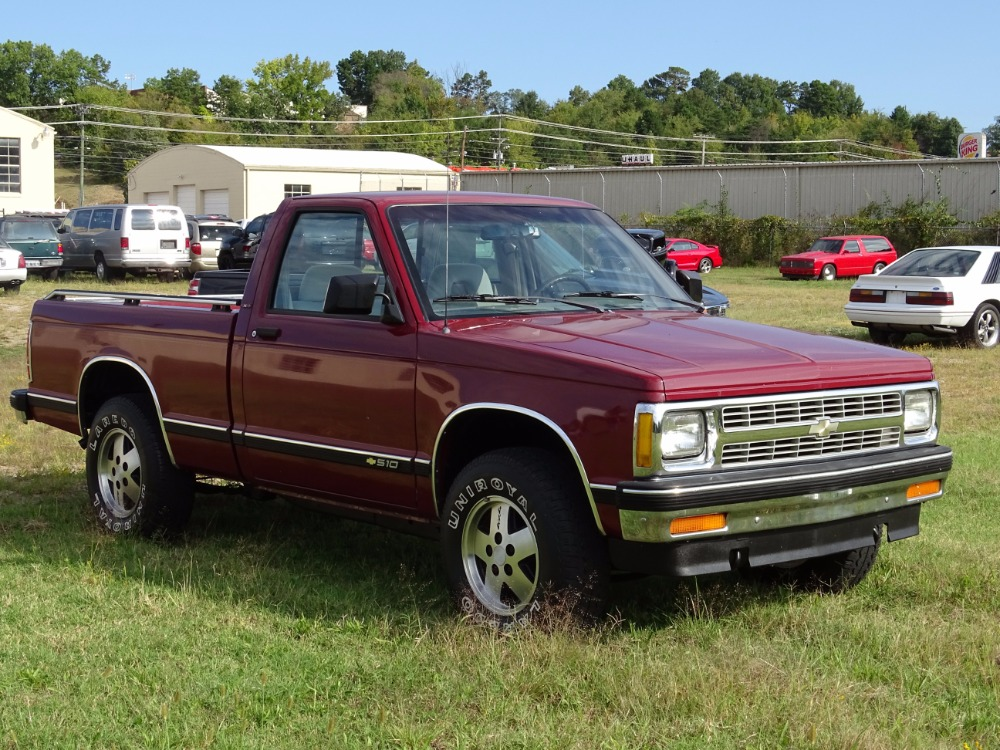 1992 Chevrolet Pickup -S10-1 OWNER TRUCK-SHORTBED-4X4-4 3 L V6