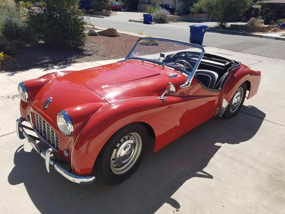 1956 Triumph TR3 SMALL MOUTH ROADSTER Stock 23645NM