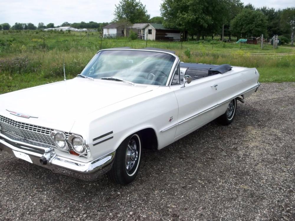 Used 1963 Chevrolet Impala -SS CONVERTIBLE - ORIGINAL 409 425HP V8 ENIGNE- | Mundelein, IL