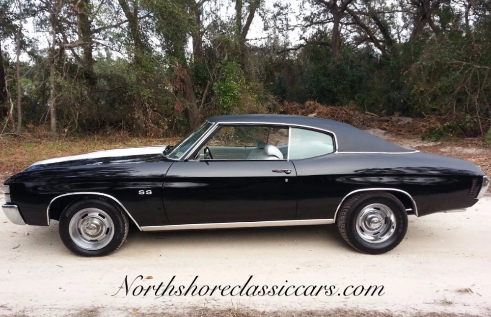 Used 1971 Chevrolet Chevelle -TUXEDO BLACK-VERY CLEAN WITH LOW MILES- | Mundelein, IL