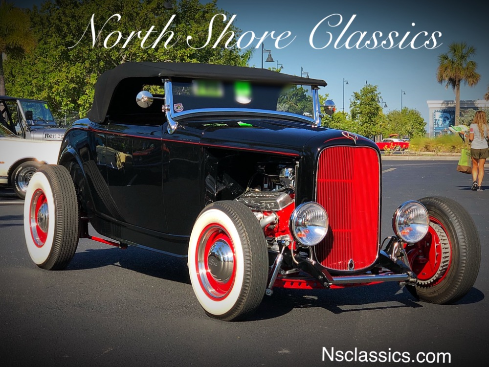 1932 Ford Roadster -BUILT BY ADAMS HOT ROD SHOP-PRISTINE SHOW ...