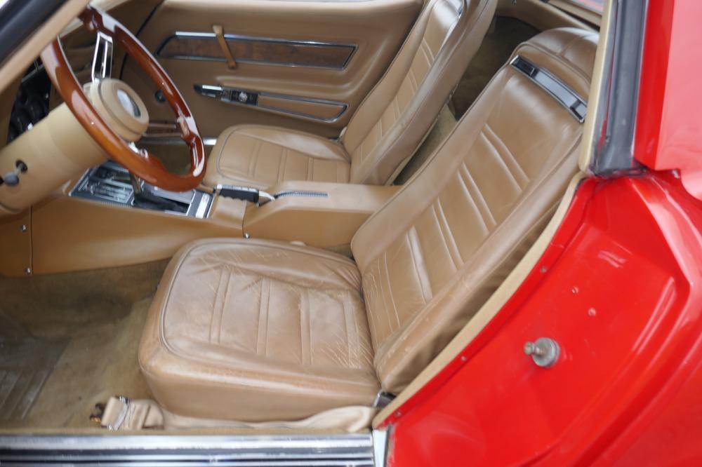 Used 1974 Chevrolet Corvette -STINGRAY-T-TOPS/4 SPEED MANUAL-SPLIT BUMPER-SIDE PIPES- SEE VIDEO | Mundelein, IL