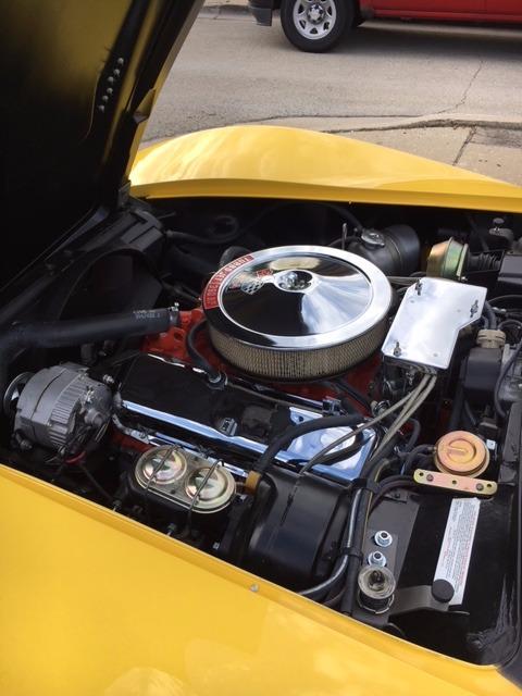 Used 1970 Chevrolet Corvette -LS5 454/MUNCIE 4SPD- DAYTONA YELLOW- FRAME OFF RESTORED CONVERTIBLE | Mundelein, IL