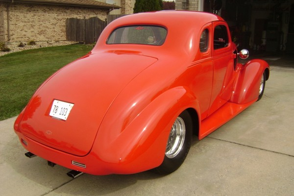 Used 1937 Chevrolet Chevy Pro Street Coupe-SLICK & FAST | Mundelein, IL