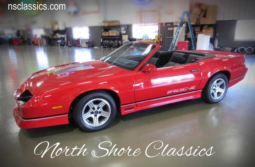 Used 1988 Chevrolet Camaro -ORIGINAL  IROC- Z28- CONVERTIBLE - WITH LOW MILES- | Mundelein, IL
