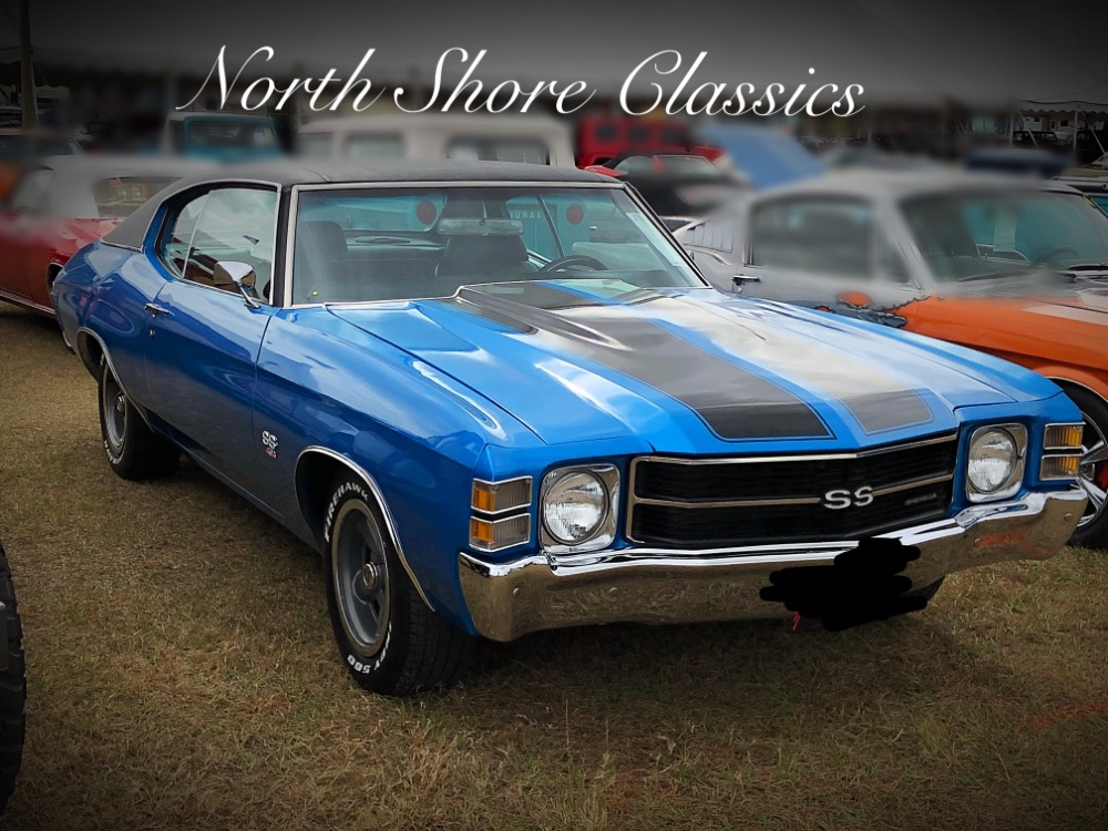 Used 1971 Chevrolet Chevelle -SS-BIG BLOCK 454-COWL INDUCTION HOOD-NICE PAINT- | Mundelein, IL
