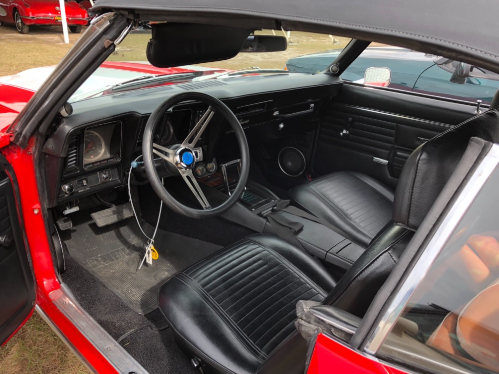 Used 1969 Chevrolet Camaro -CONVERTIBLE FUN-REAL NICE PAINT | Mundelein, IL