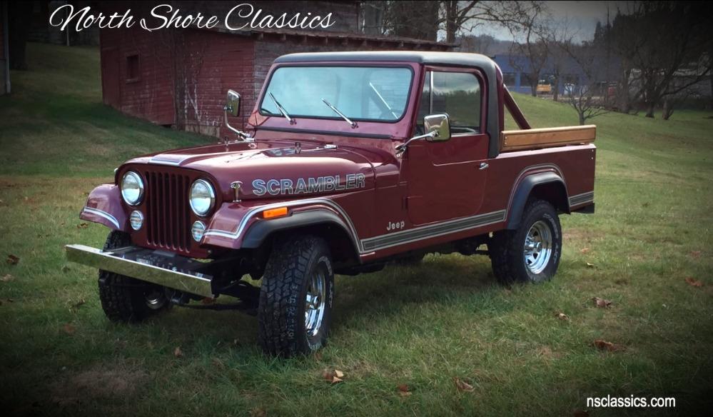 1981 jeep scrambler frame off restoration new paint and. Black Bedroom Furniture Sets. Home Design Ideas