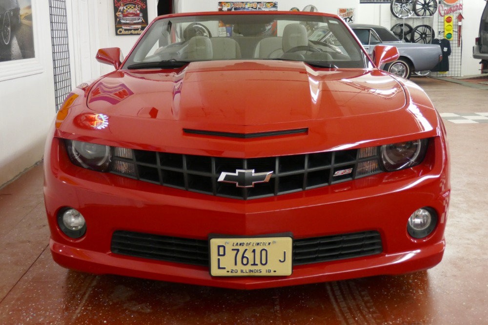 Used 2011 Chevrolet Camaro -SS 6.2 CONVERTIBLE-Only 12k MILES- FROM FLORIDA | Mundelein, IL