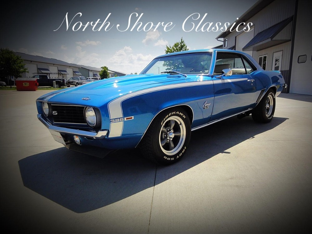 Used 1969 Chevrolet Camaro -ARIZONA CAR-TRUE REAL SS X66 CODE SUPER SPORT-MINT CONDITION RESTORED | Mundelein, IL