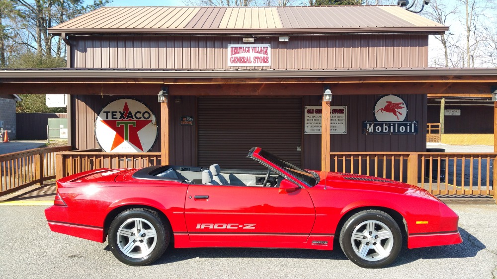 Used 1989 Chevrolet Camaro -Z28 -IROC-CONVERTIBLE - 43k ORIGINAL MILES- AOD- SEE VIDEO | Mundelein, IL