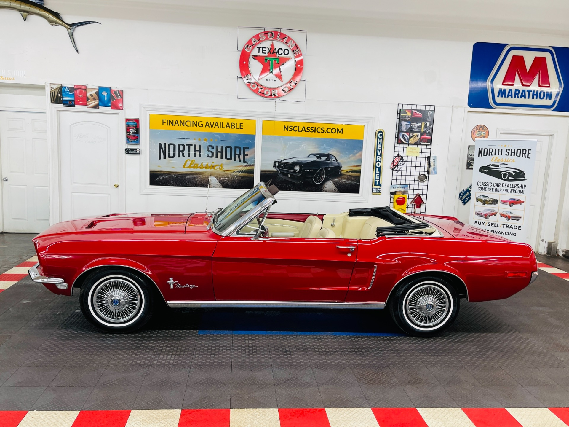Used 1968 Ford Mustang -RESTORED CONDITION CONVERTIBLE- | Mundelein, IL