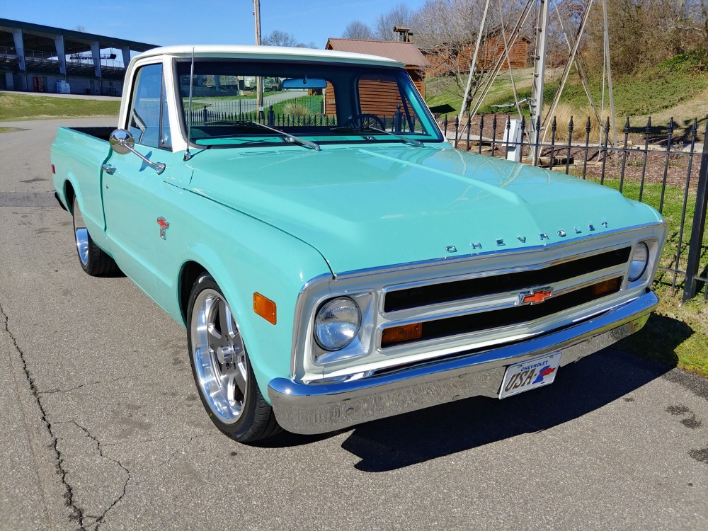 Used 1968 Chevrolet Pickup -C10- SHORT BED- BIG WINDOW PICK UP - SEE VIDEO | Mundelein, IL