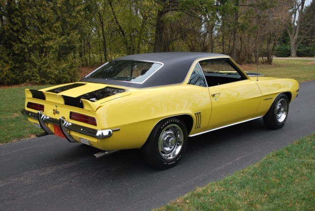 Used 1969 Chevrolet Camaro - RS/Z28 DAYTONA YELLOW-WELL DOCUMENTED NUMBERS MATCHING MUSCLE CAR- | Mundelein, IL