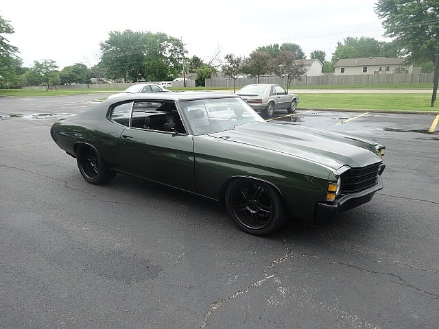 Used 1971 Chevrolet Chevelle -HUGE PRICE DROP!!- 540 C.I. ENGINE - BUILT PRO TOURING MACHINE- A MUST SEE | Mundelein, IL