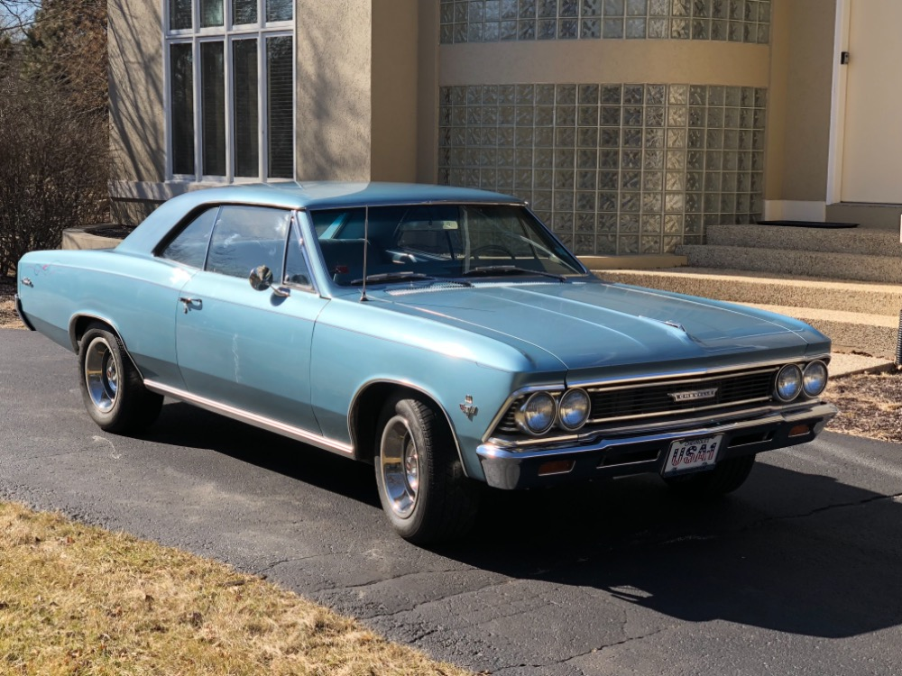Used 1966 Chevrolet Chevelle -BIG BLOCK 454 ENGINE-4 SPEED-FROM WEST VIRGINIA- SEE VIDEO | Mundelein, IL
