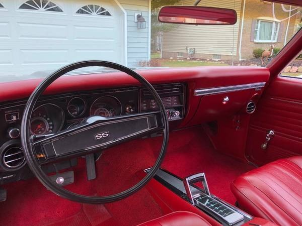 Used 1969 Chevrolet Chevelle -SS396-MINT CONDITION RESTORED-BEST COLOR COMBO- | Mundelein, IL