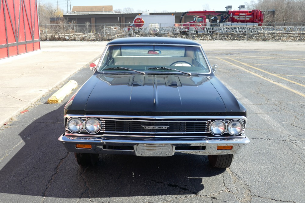 Used 1966 Chevrolet Chevelle -TUXEDO BLACK-VERY CLEAN WITH LOW MILES - SEE VIDEO | Mundelein, IL