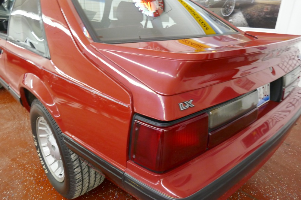 1989 Mustang Lx Specs