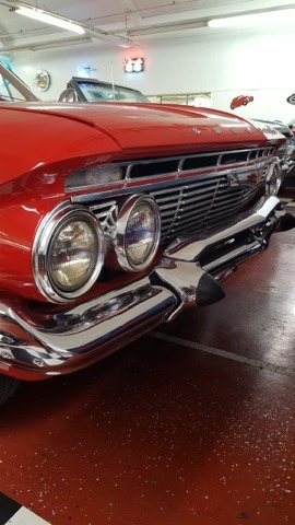 Used 1961 Chevrolet Bel Air -RARE BUBBLE TOP-RESTORED CONDITION- SEE VIDEO | Mundelein, IL