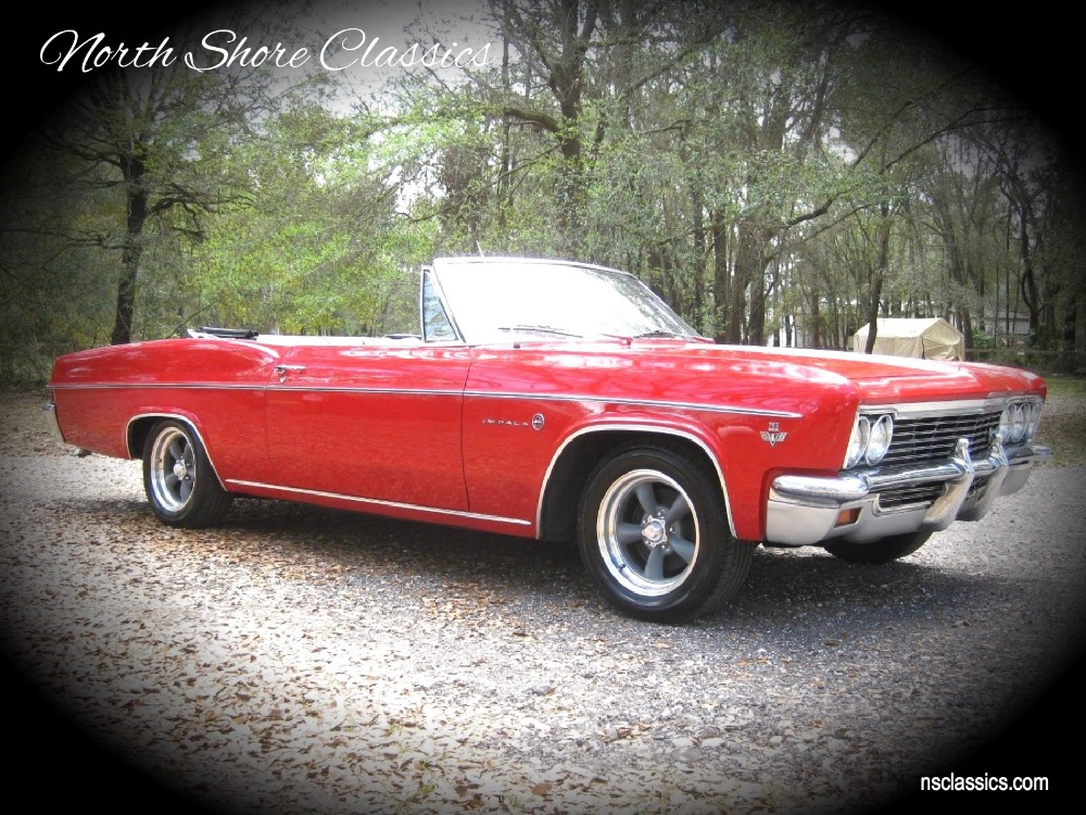 Used 1966 Chevrolet Impala - CONVERTIBLE DRIVER CLASSIC - | Mundelein, IL